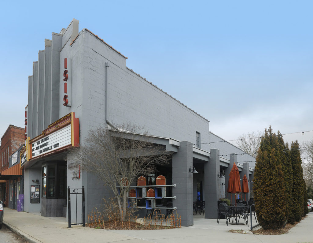 Isis Resturant & Music Hall - Walker Rice Enterprises .inc